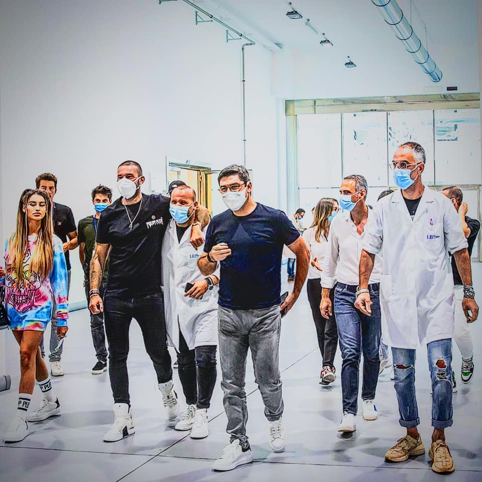Philipp Plein visita leo Shoes
